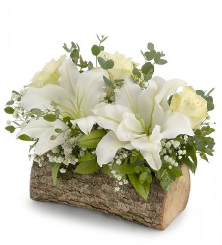 KÜTÜKTE LİLYUM GÜL bursa çiçek